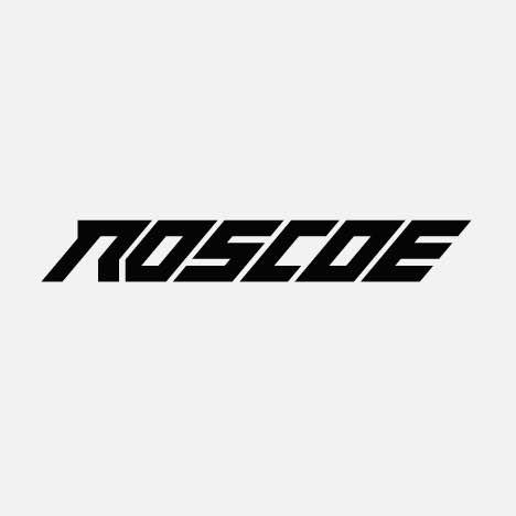 A modern bold product logo