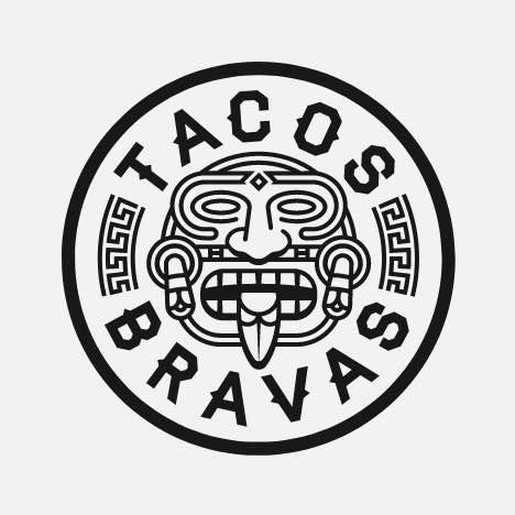 An aztec inspired badge logo