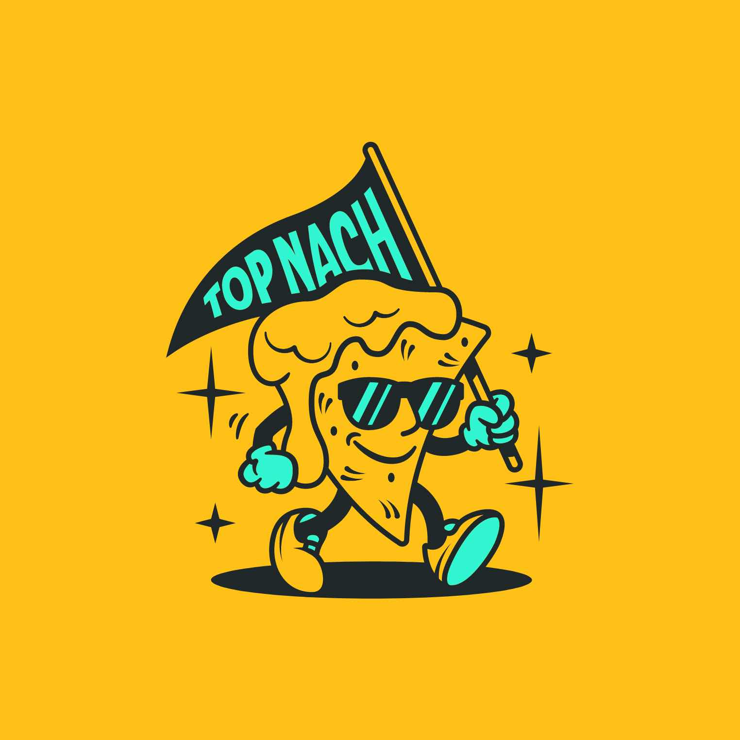 Top Nach mascot