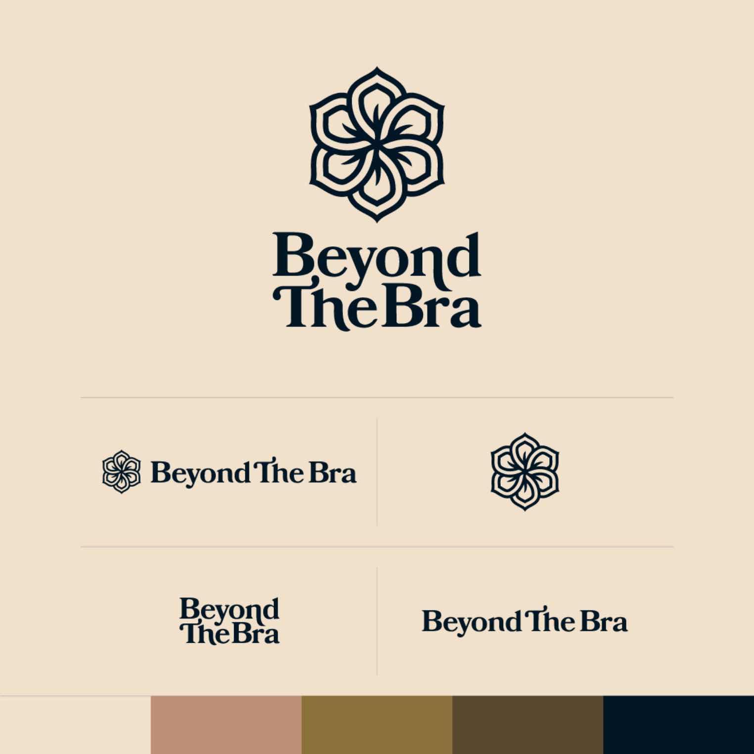 Beyond The Bra specimen sheet