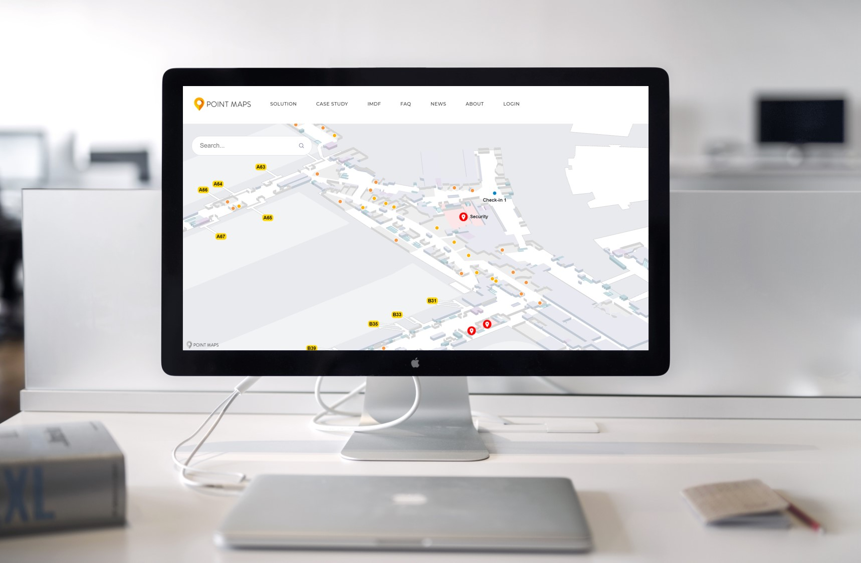 Guide to using indoor digital maps and wayfinding