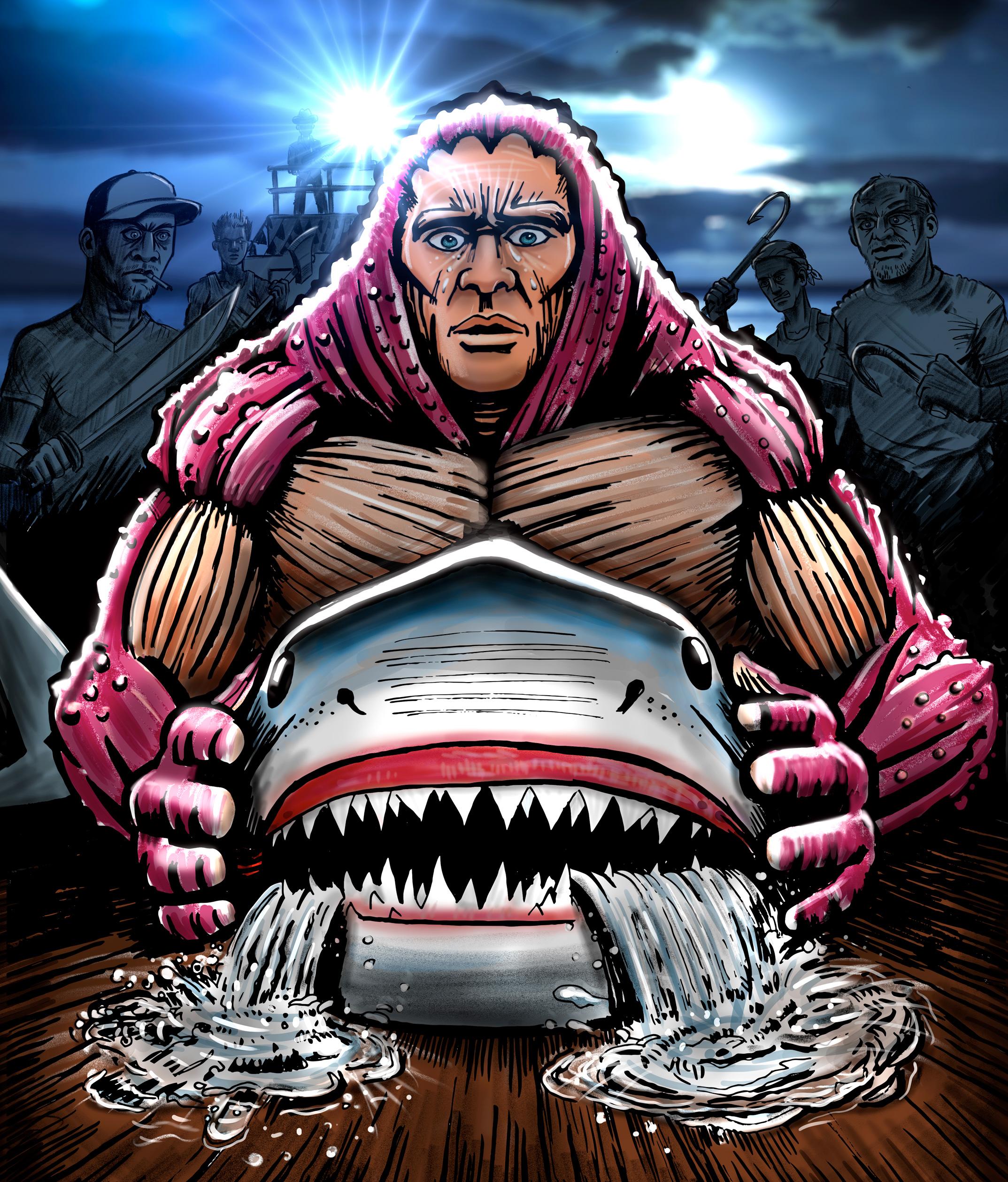 Starfishman - The Shark Finners