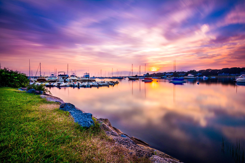 Cape Cod Sunset Long Exposure Photo