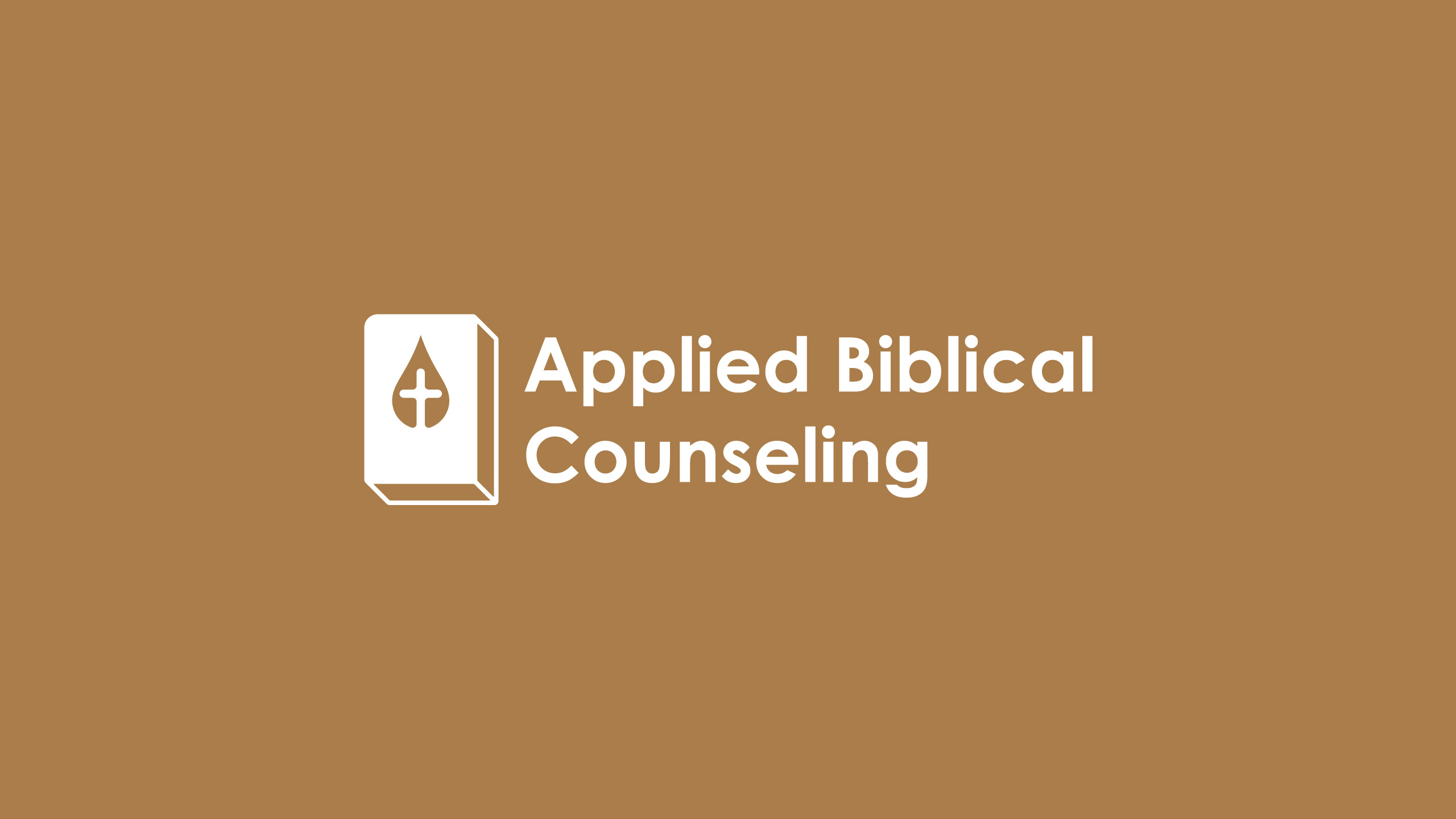 Biblical counseling logo design