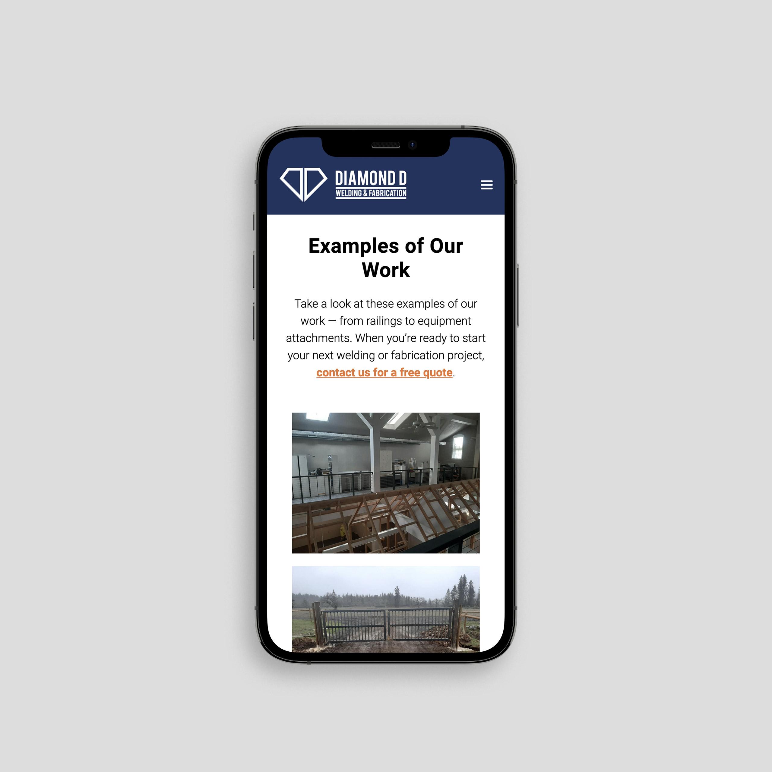 Custom website design Medford