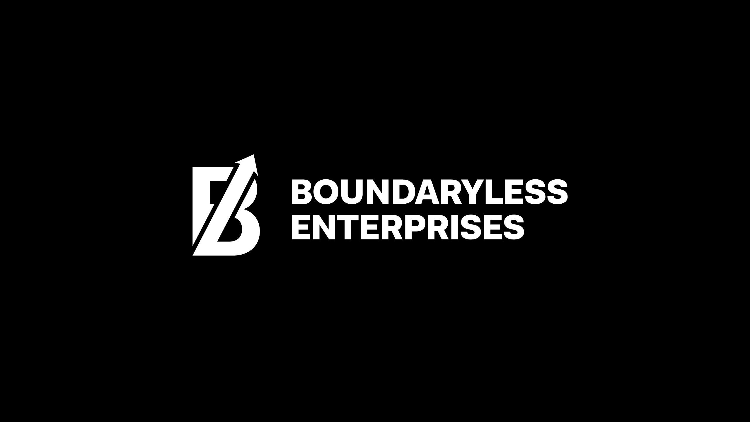 Boundaryless Enterprises logo design