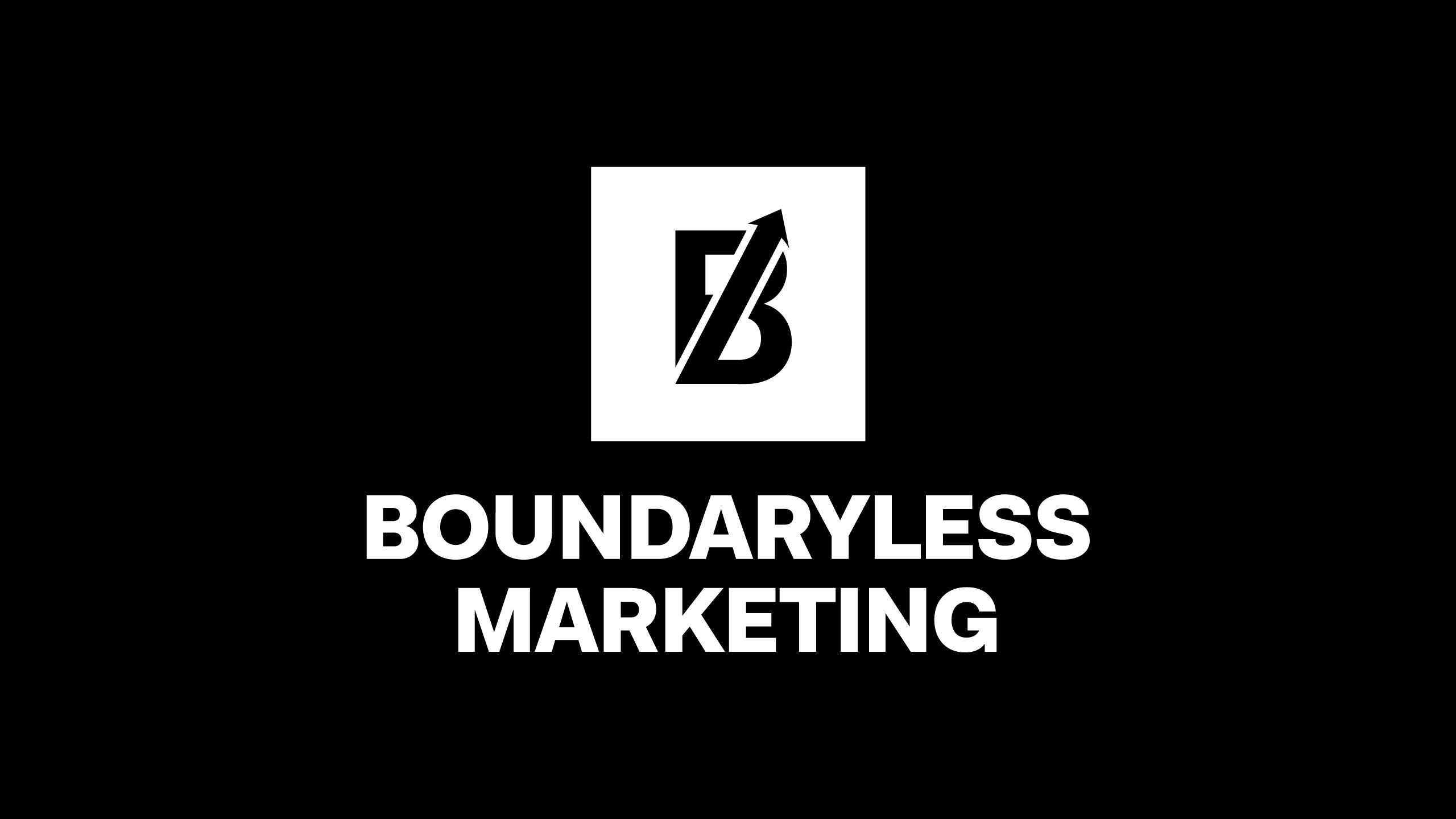 Boundaryless Marketing logo design