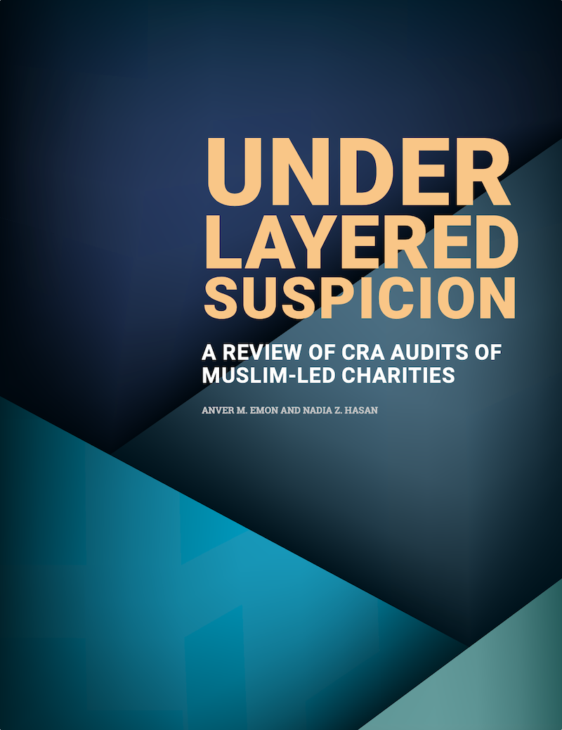 """The cover of the """"Under Layered Suspicion"""" report"""