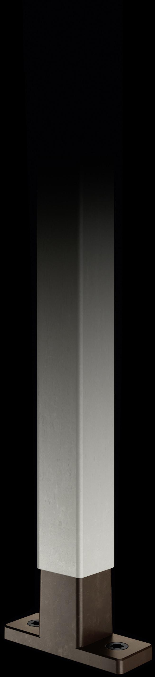 Mattnickel-Strebe mit T-Konnektor aus Kupfer