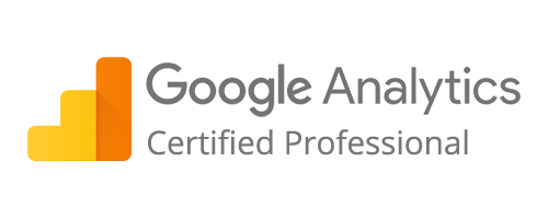 Logo Google Analytics certified professional