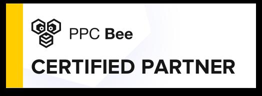 PPC Bee Certified Partner logo – Instinct Agency