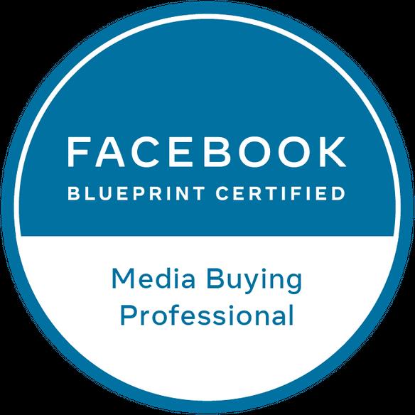 Facebook Blueprint Certified: Media Buying Professional logo – Instinct Agency