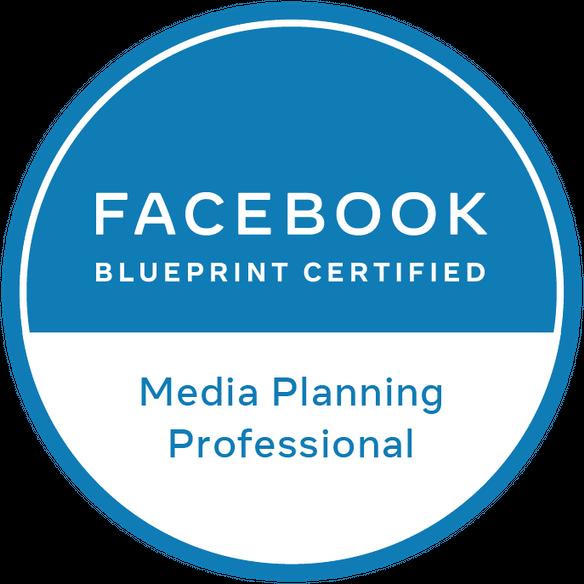 Facebook Blueprint Certified: Media Planning Professional logo – Instinct Agency
