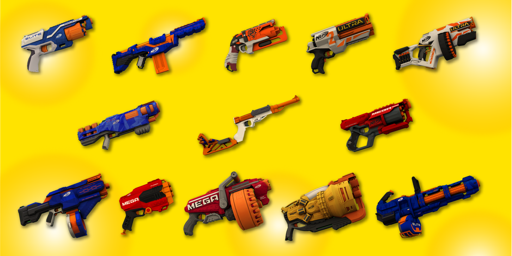 NERF blasters by Homa Games