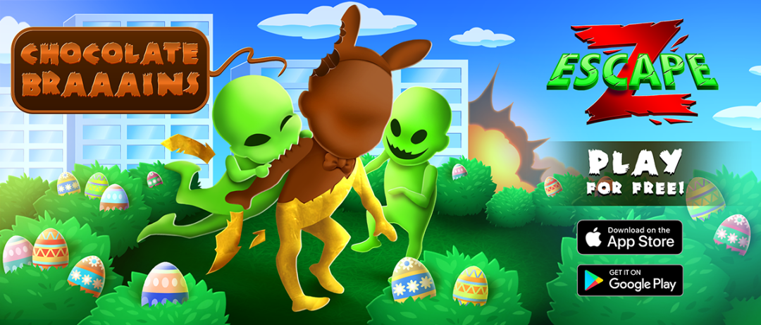 Easter on Z Escape.