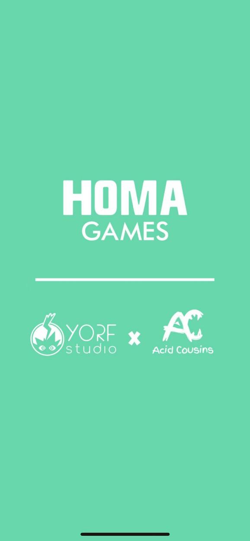 Homa Games, Yorf Studio, and Acid Cousins collaboration.