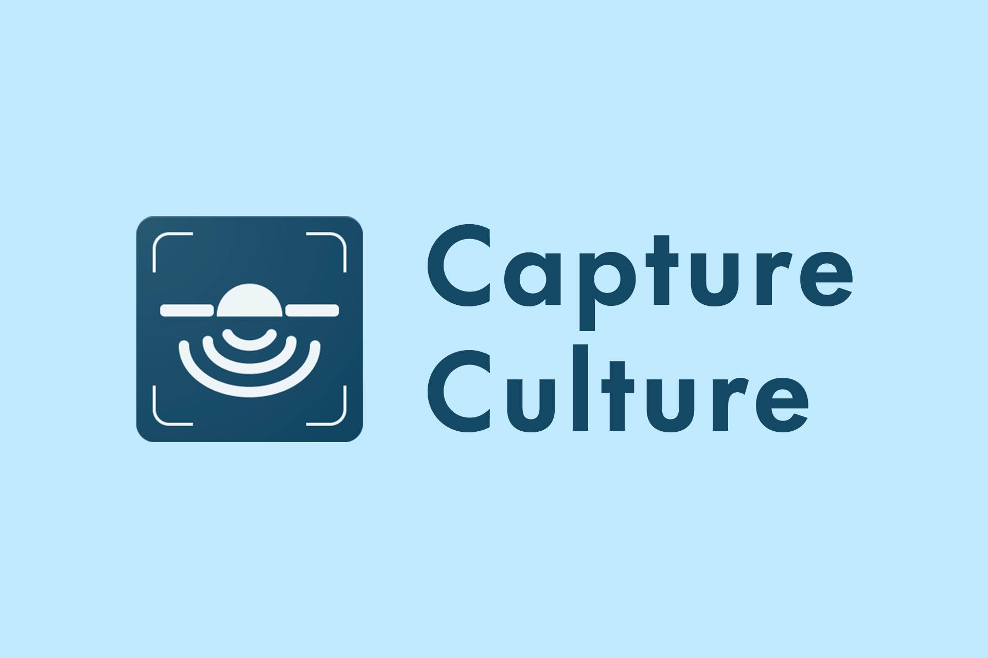 Capture Culture Project Image