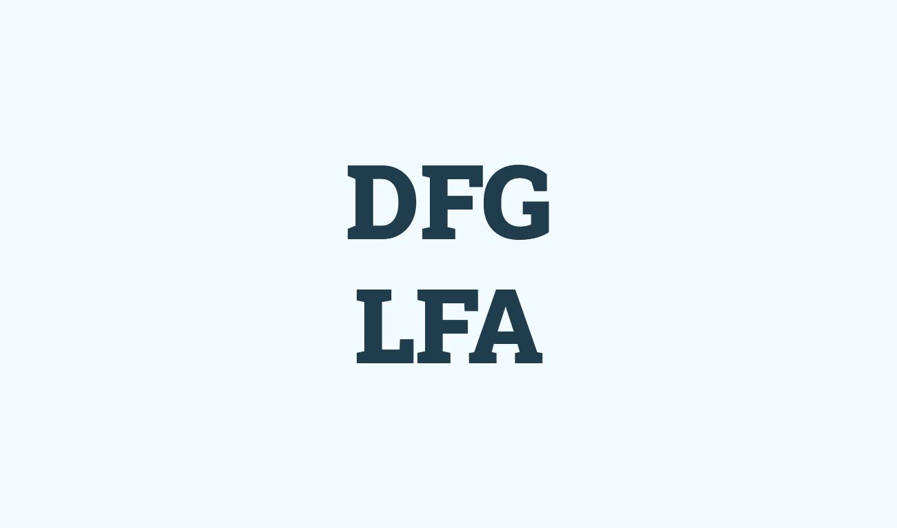 DFG Logo representation