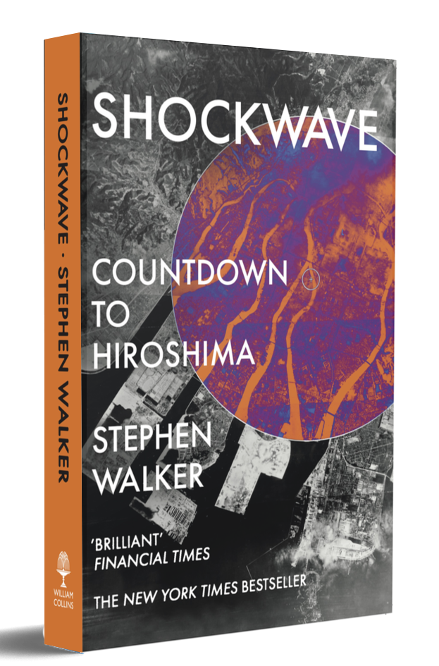 SHOCKWAVE by Stephen Waker book cover