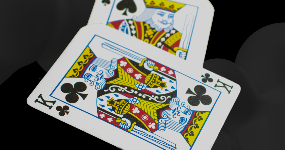 cards with kings on it symbolizing that Customer Experience, that is CX, is king and matters for B2B businesses