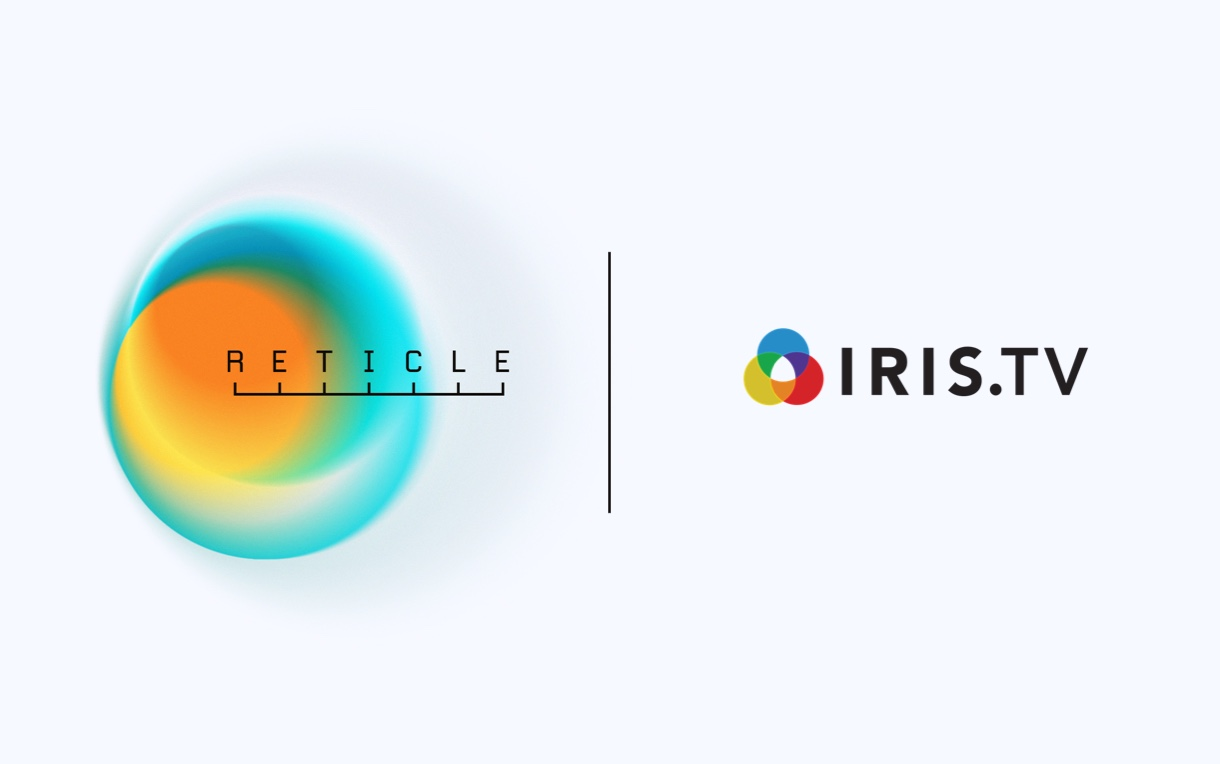 Reticle is partnered with IRIS.TV