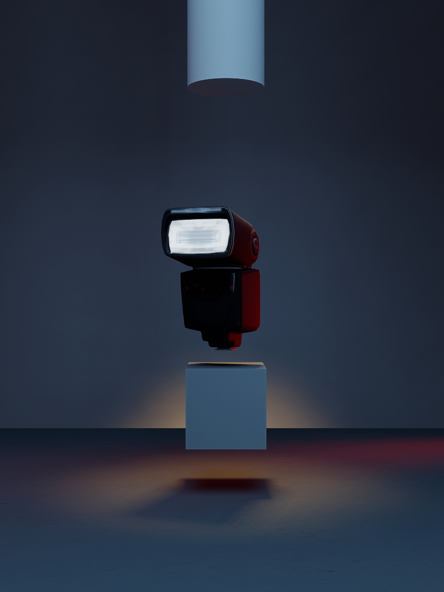 Concept of still life in studio of the flash A10 for a Profoto national campaign
