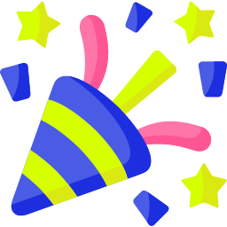 Boddle Party Popper Icon