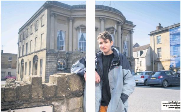 Teenager starts scheme to help locked down town