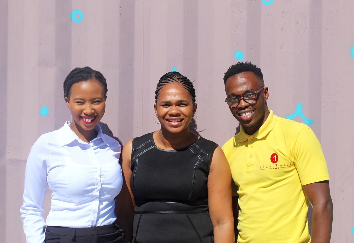 Group of senior mentors at Ukhanyo Foundation