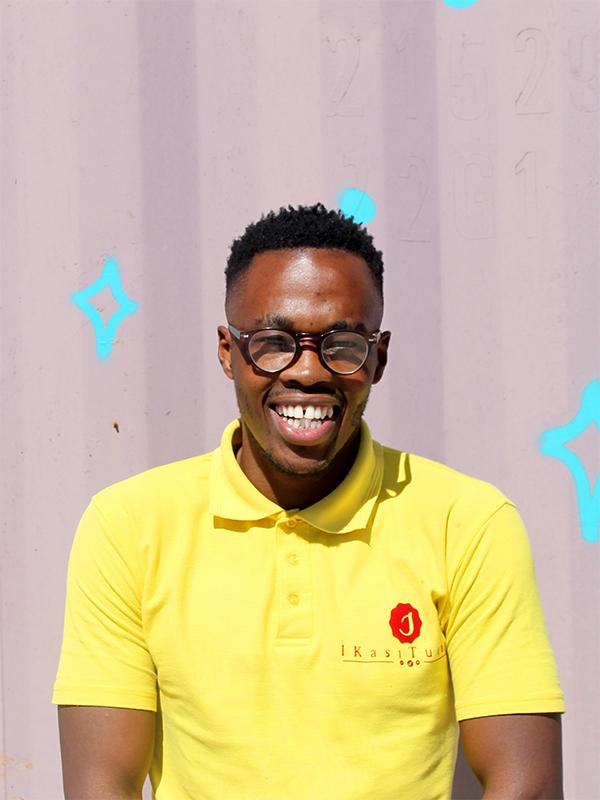 Headshot of Nkululo, Gugu Senior Tutor at Ukhanyo Foundation
