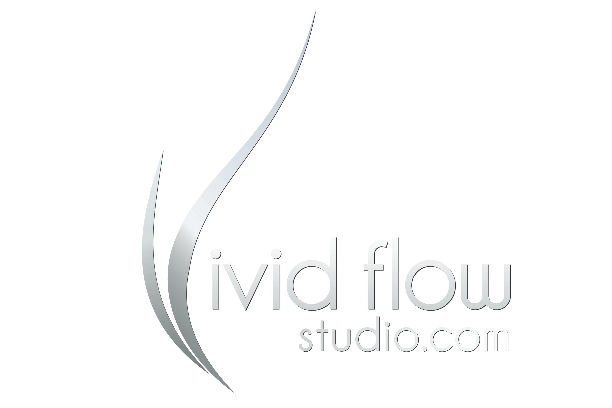 Vivid Flow Studio Logo