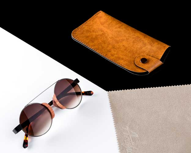 Sample image of the professional image of sunglasses