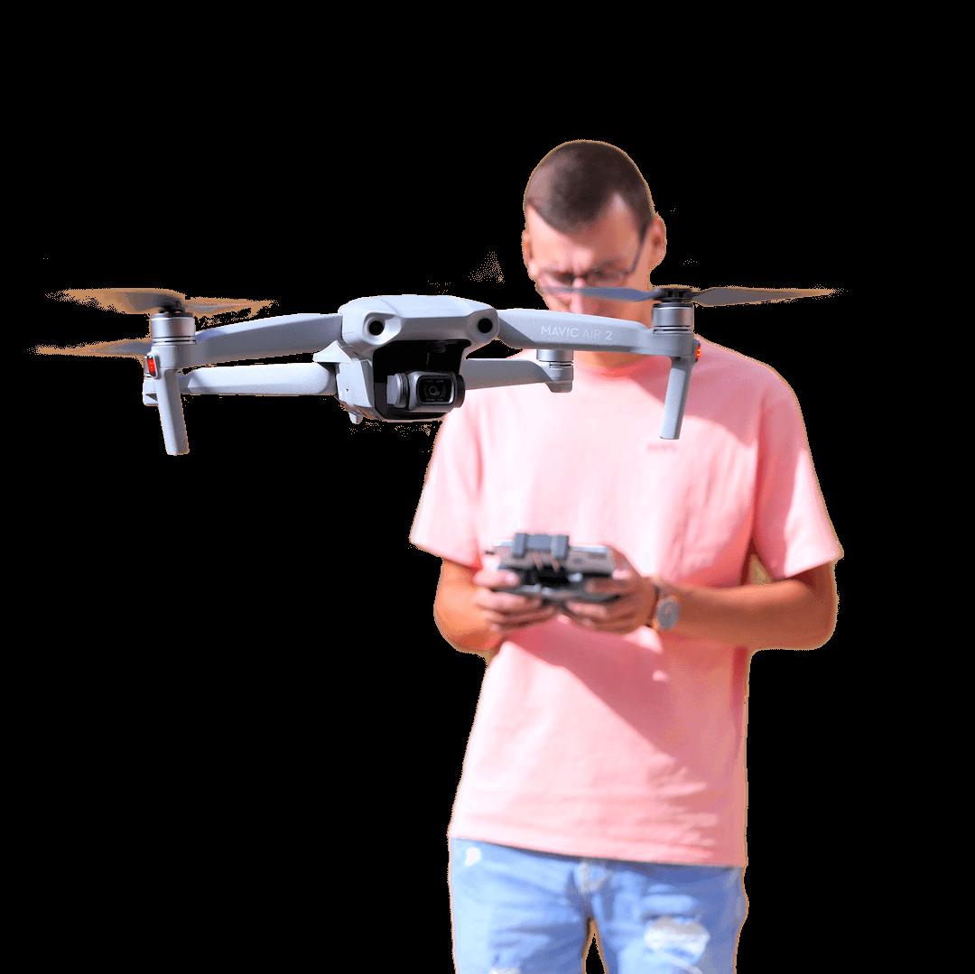 sillu vidéo drone