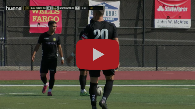 Bay Cities FC vs Space United FC - NISA Independent Cup 7/24/2021