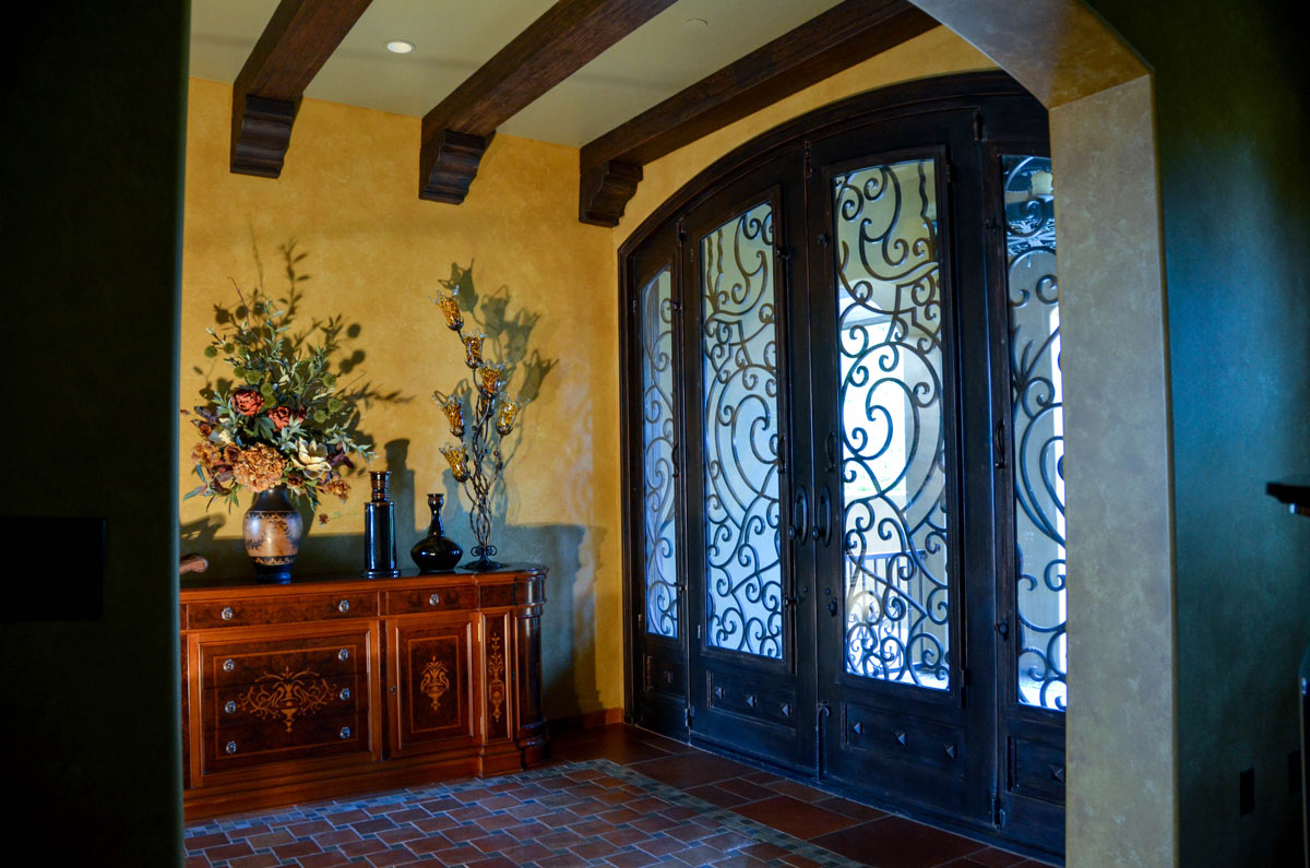 Entry Foyer and Music Room