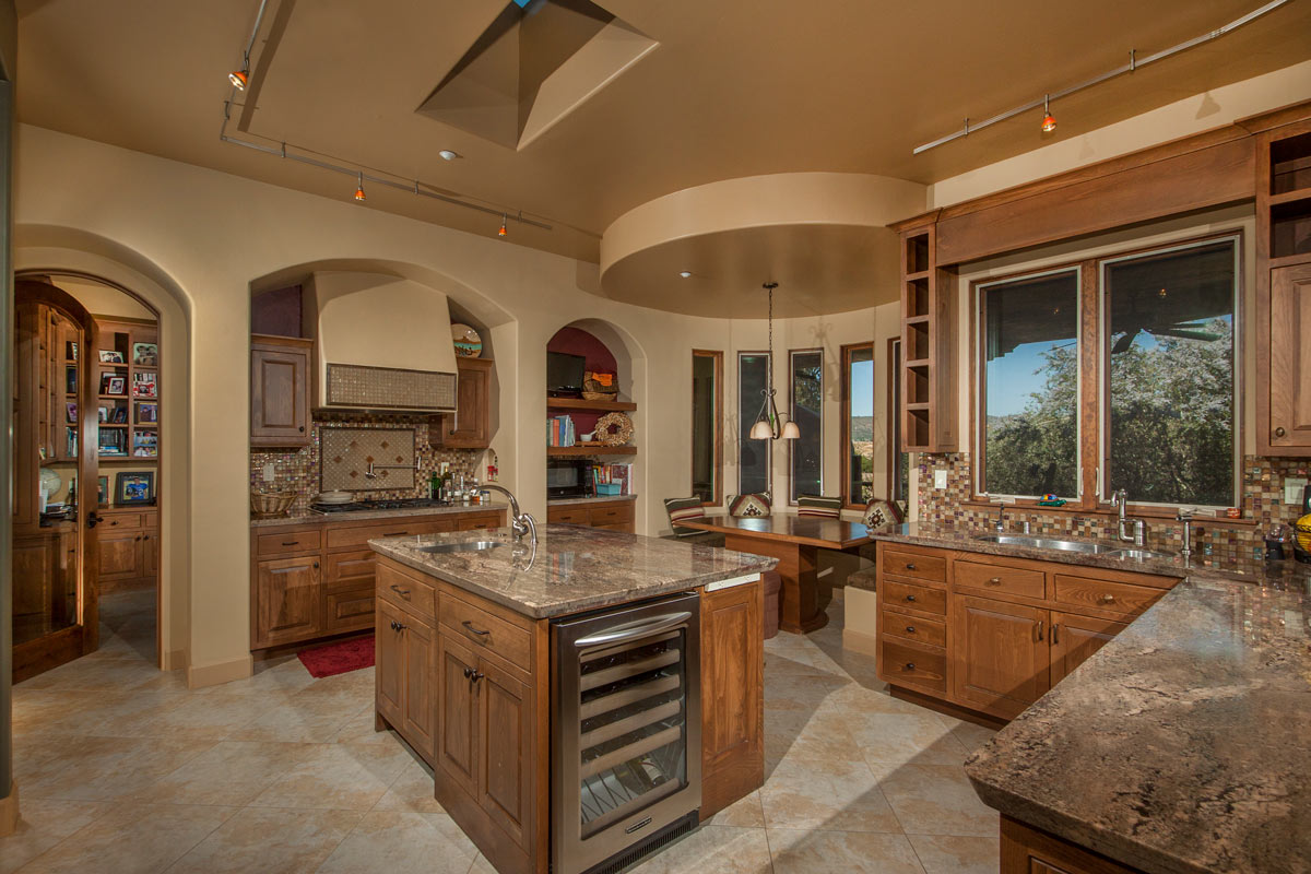 The Kitchen and Built-in Breakfast Nook.