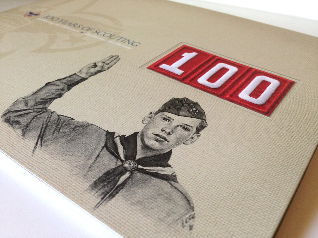The Boy Scouts of America is one of the largest Scouting organizations and youth organizations in the United States, with more than 2.4 million youth participants and nearly one million adult volunteers. Anvil & Hammer was honored to be able to work with Boys Scouts of America to put together their commemorative 100 Year Anniversary collectors book.
