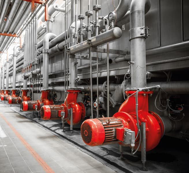 Image of an industrial plant