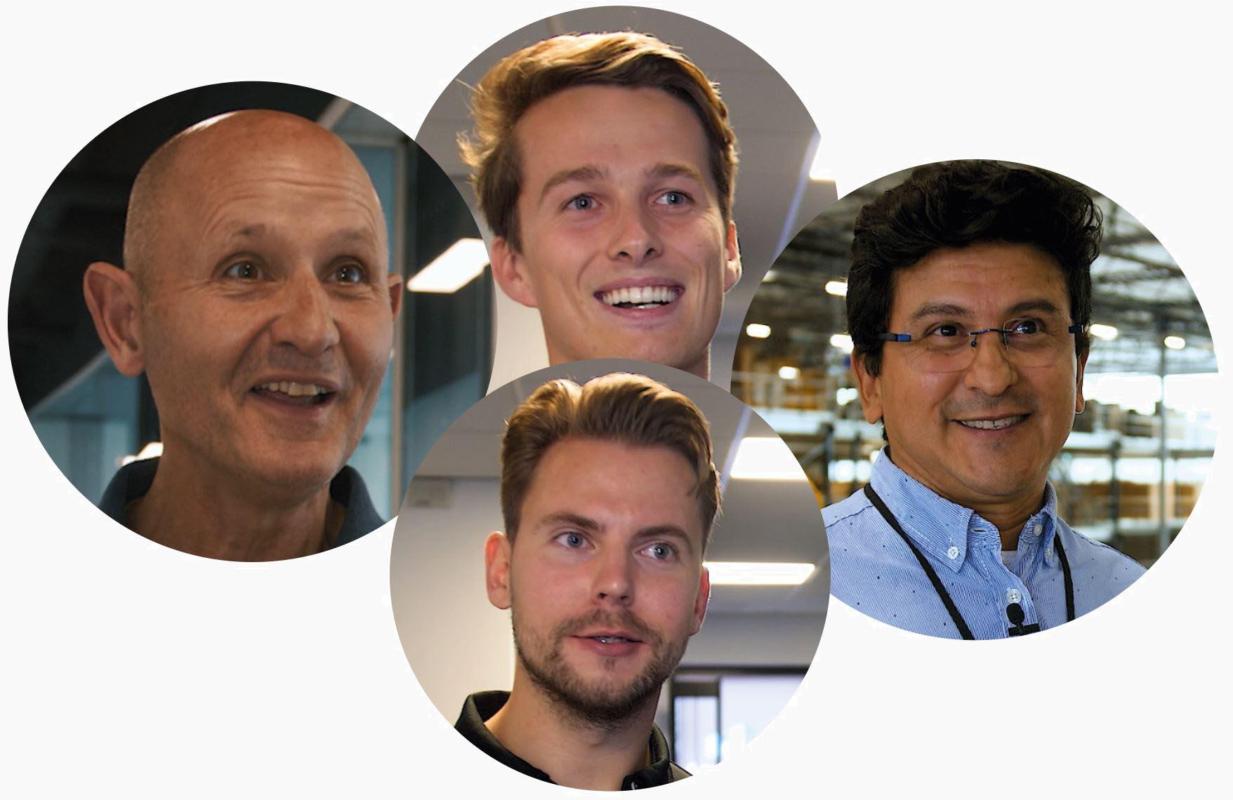 Customer faces