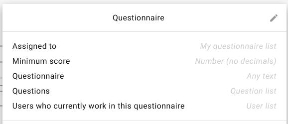 data-item-questionnaire