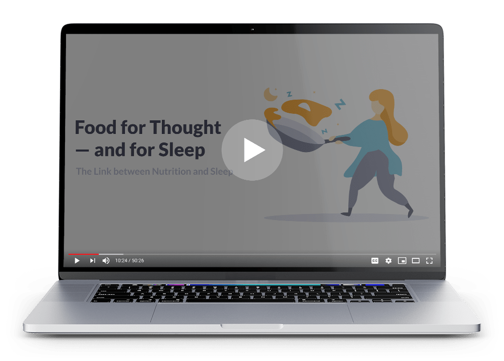 Food for Thought - and for Sleep