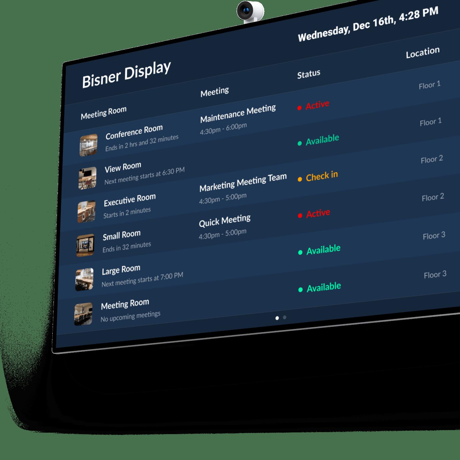 Bisner Status Board