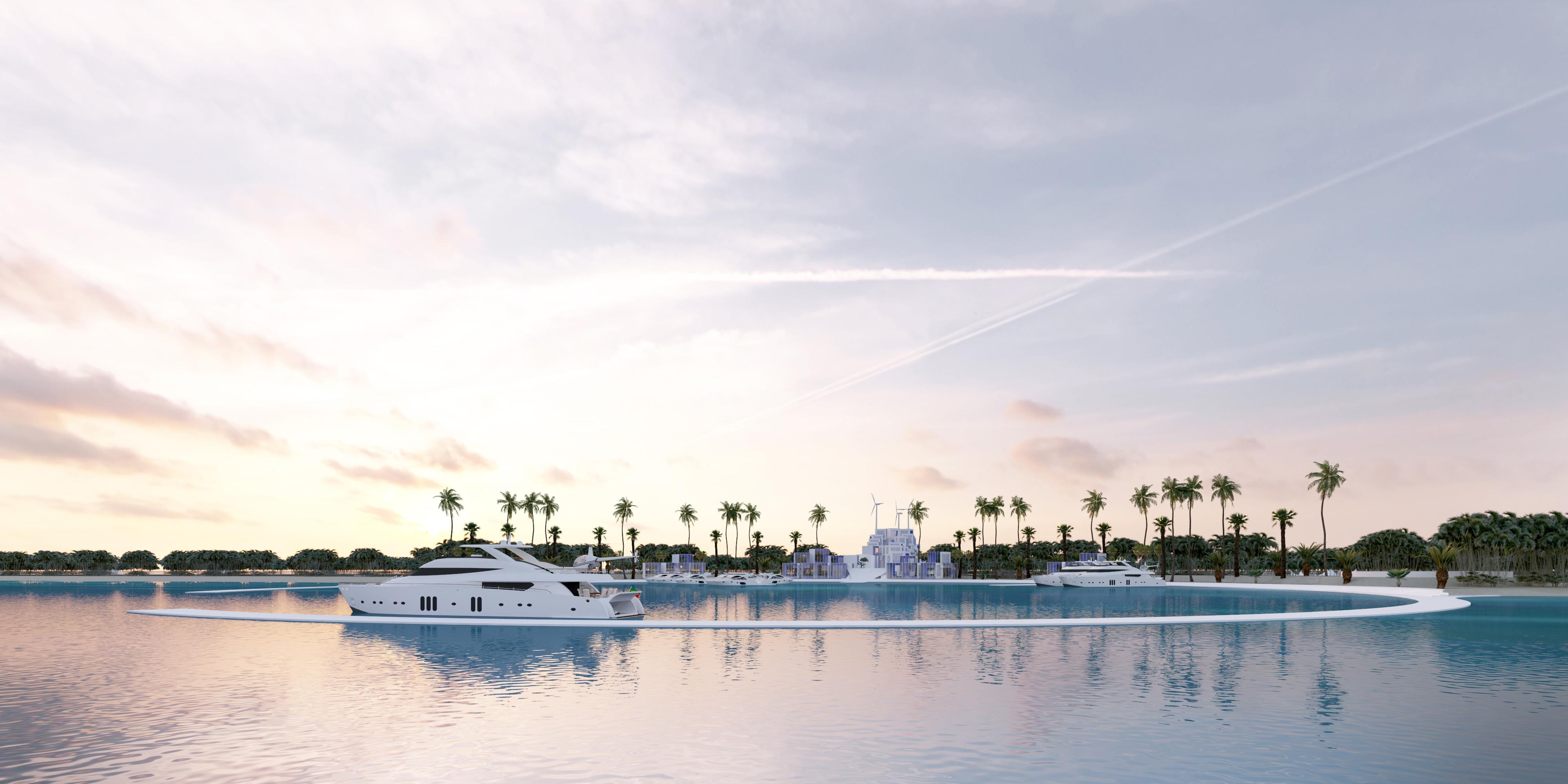 North Barrier Island Resort Abu Dhabi