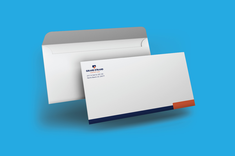 Number 10, Business Envelope, Commercial Envelope, Return Envelope
