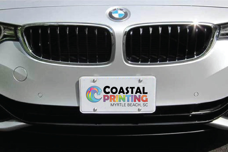 Custom Aluminum License Plates