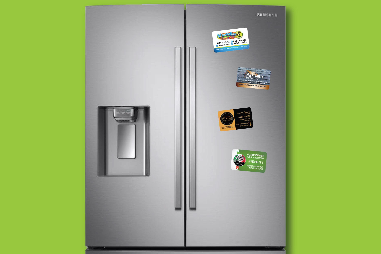 Business Cards Magnet, Refrigerator Manget