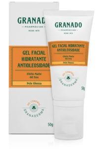 Hidratante facial Gel facial hidratante antioleosidade - Granado