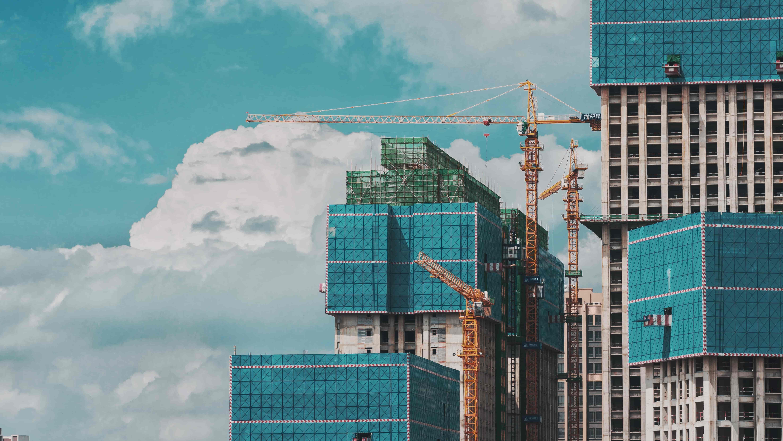 Immeubles en construction
