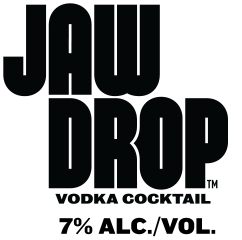 Jaw Drop Vodka Cocktail logo