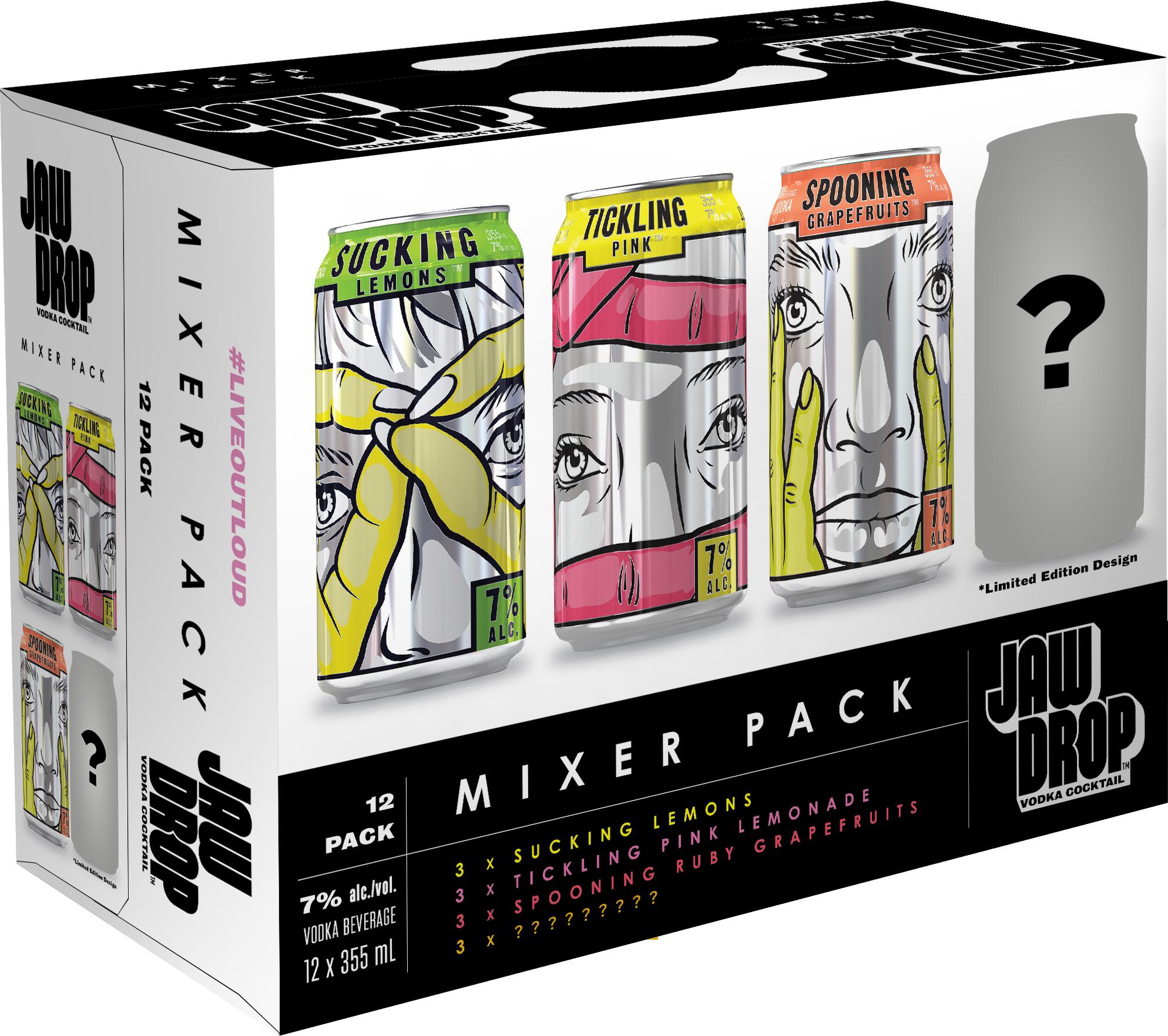 Jaw Drop Mixer Pack